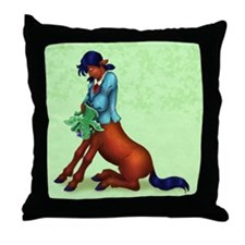 Centaur Girl - Throw Pillow