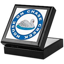 Chase Creek Swan Keepsake Box