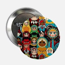 "Matryoshka 2.25"" Button"