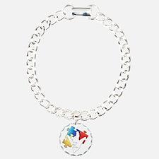 Deaf Autism Logo Bracelet
