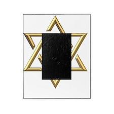 Golden 3-D Star of David Picture Frame