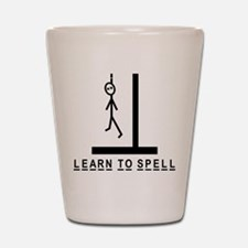 Learn to spell Shot Glass