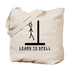 Learn to spell Tote Bag