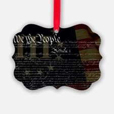 U.S. Outline - Constitution Ornament