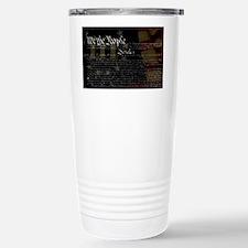 U.S. Outline - Constitu Travel Mug