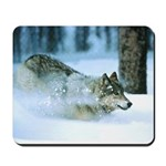 Running Wolf Mousepad
