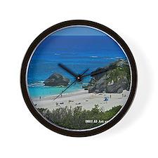 warwick beach Wall Clock