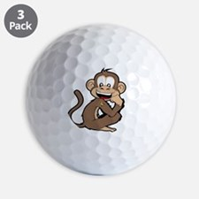 cheeky Monkey Golf Ball