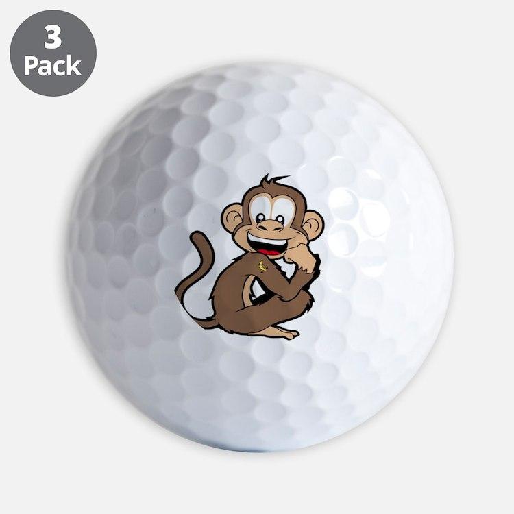 cheeky Monkey Golf Balls