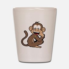 cheeky Monkey Shot Glass