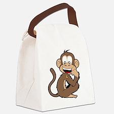 cheeky Monkey Canvas Lunch Bag