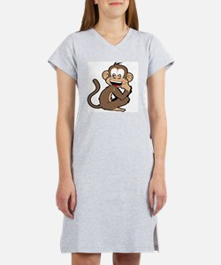 cheeky Monkey Women's Nightshirt