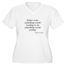 Benjamin Franklin quote 42 T-Shirt