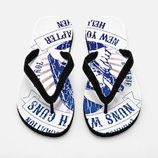 Nuns with Guns Flip Flops