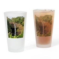 Rainbow Falls Drinking Glass