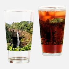 Rainbow Falls Drinking Glass