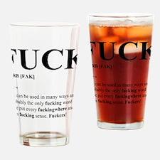 Fuck Drinking Glass