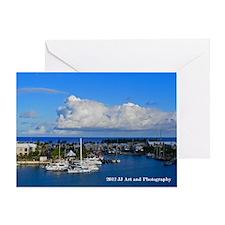 Royal Naval Dockyard Greeting Card