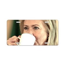 Hillary Aluminum License Plate