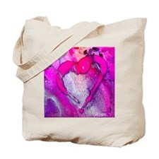 My Valentine - PINK, by GG Burns Tote Bag