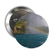 "Rainbow 2.25"" Button"