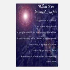 What Ive Learned... So Fa Postcards (Package of 8)