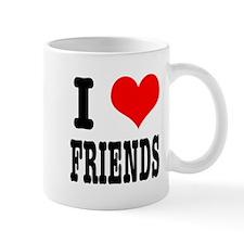 I Heart (Love) Friends Mug