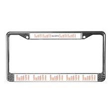 Meerkat Family License Plate Frame