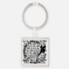 Molly Square Keychain