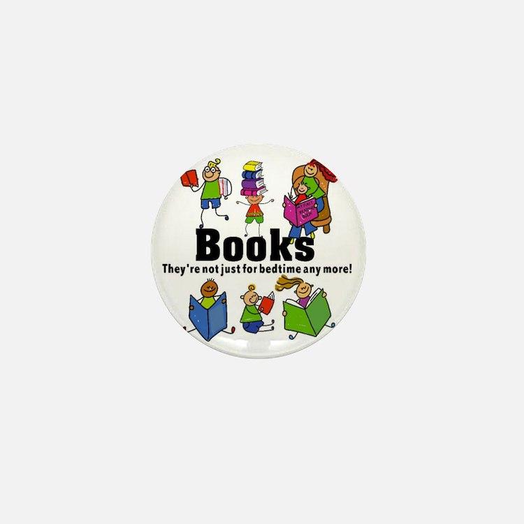 Books Bedtime Mini Button