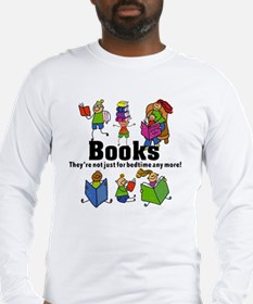 Books Bedtime Long Sleeve T-Shirt