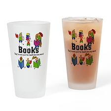 Books Bedtime Drinking Glass