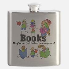Books Bedtime Flask