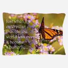 Butterfly Proverb Pillow Case