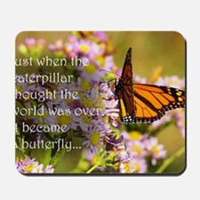 Butterfly Proverb Mousepad