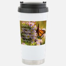 Butterfly Proverb Thermos Mug