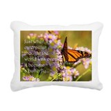 Butterfly Rectangle Canvas Pillows