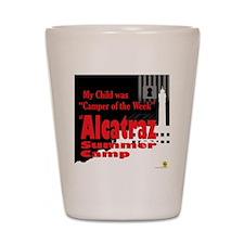 Alcatraz Summer Camp  Shot Glass
