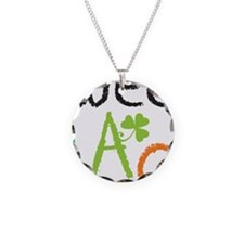 wee lad Necklace Circle Charm