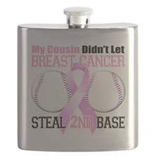 Cousin Didnt Let Breast Cancer Steal 2nd Bas Flask