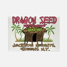 Dragon Seed Restaurant Rectangle Magnet