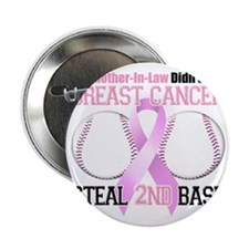 """Mom in Law Didnt Let Breast Cancer St 2.25"""" Button"""