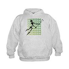 Abstract Lacrosse Hoodie
