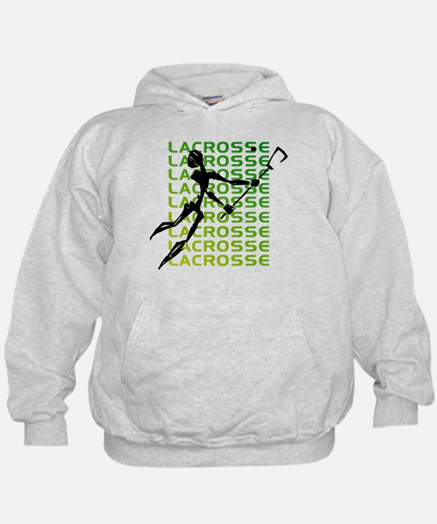 Abstract Lacrosse Hoodie