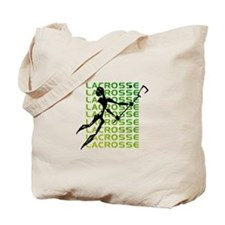 Abstract Lacrosse Tote Bag