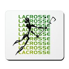 Abstract Lacrosse Mousepad