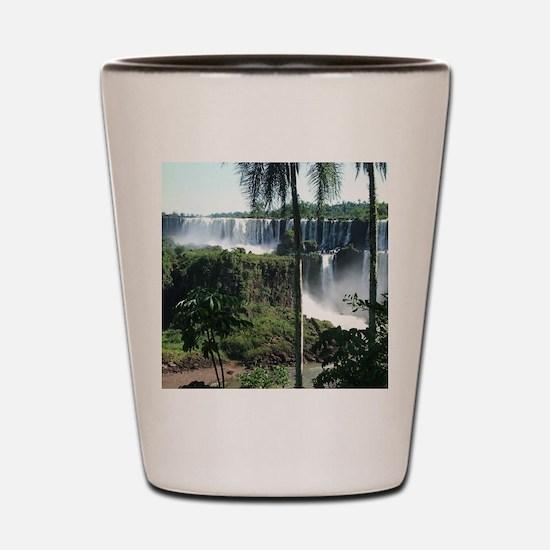 Iguazu falls 2 Shot Glass