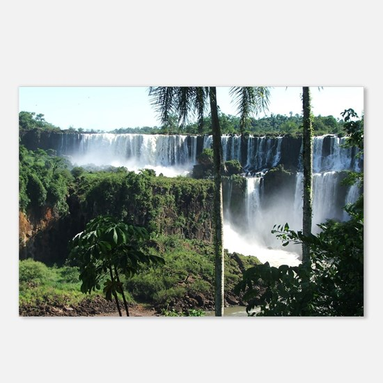 Iguazu falls 2 Postcards (Package of 8)