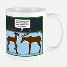 Reindeer with a Cold Mugs