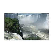Iguazu falls 3 Rectangle Car Magnet